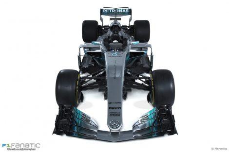 Mercedes W08, 2017