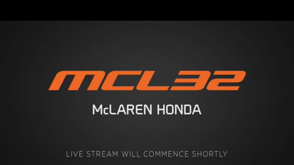 Video: Watch McLaren launch their new 2017 car live