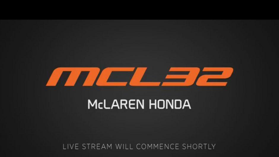 Video: Watch McLaren launch their new 2017 car live