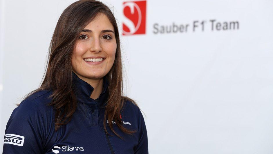 Tatiana Calderon becomes Sauber development driver