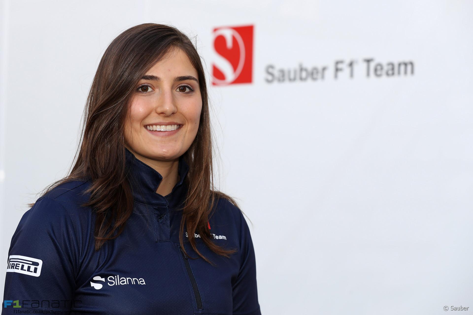 Tatiana Calderon, Sauber, 2017