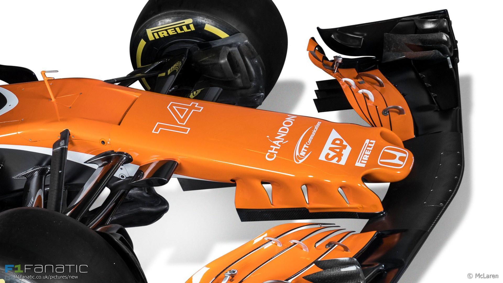 McLaren MCL32, 2017