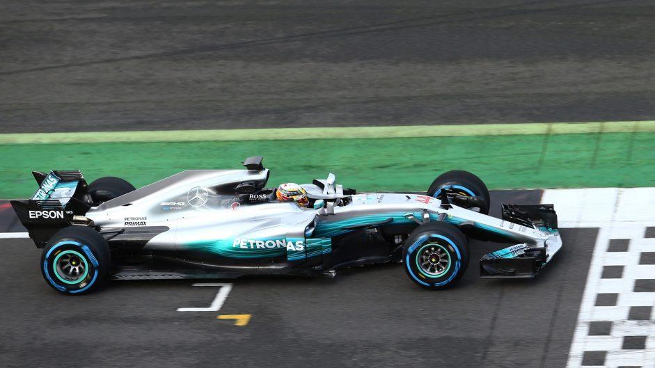 Mercedes W08, Silverstone, 2017