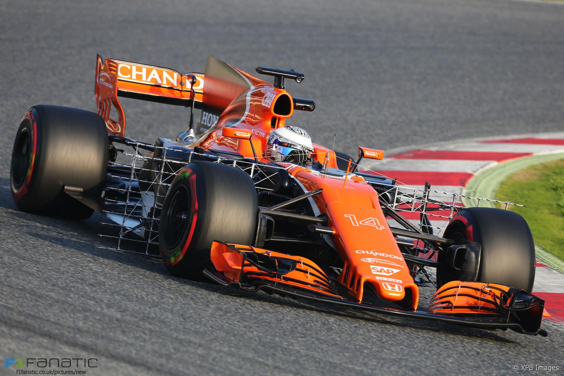 Fernando Alonso, McLaren, Circuit de Catalunya, 2017 · F1 ...