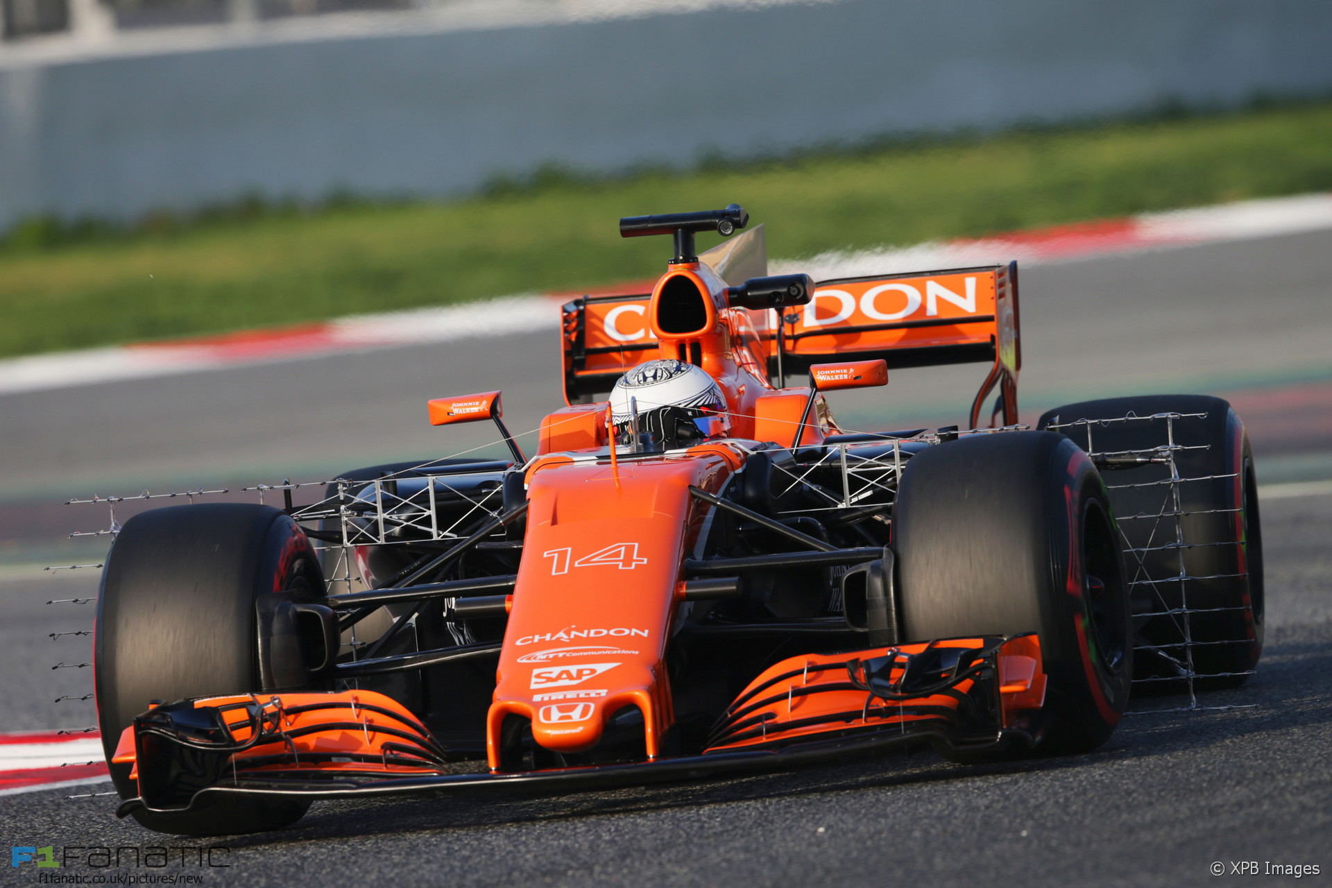 Fernando Alonso Mclaren Circuit De Catalunya 2017 F1
