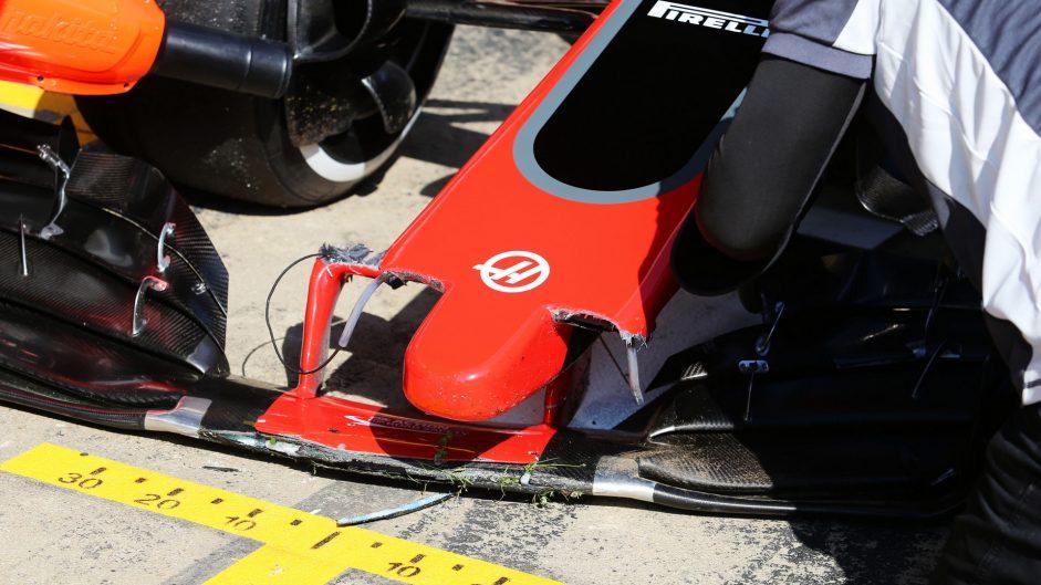 Magnussen explains turn ten crash