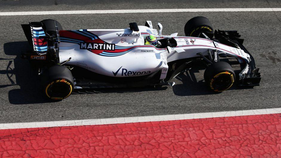 Felipe Massa, Williams, Circuit de Catalunya, 2017