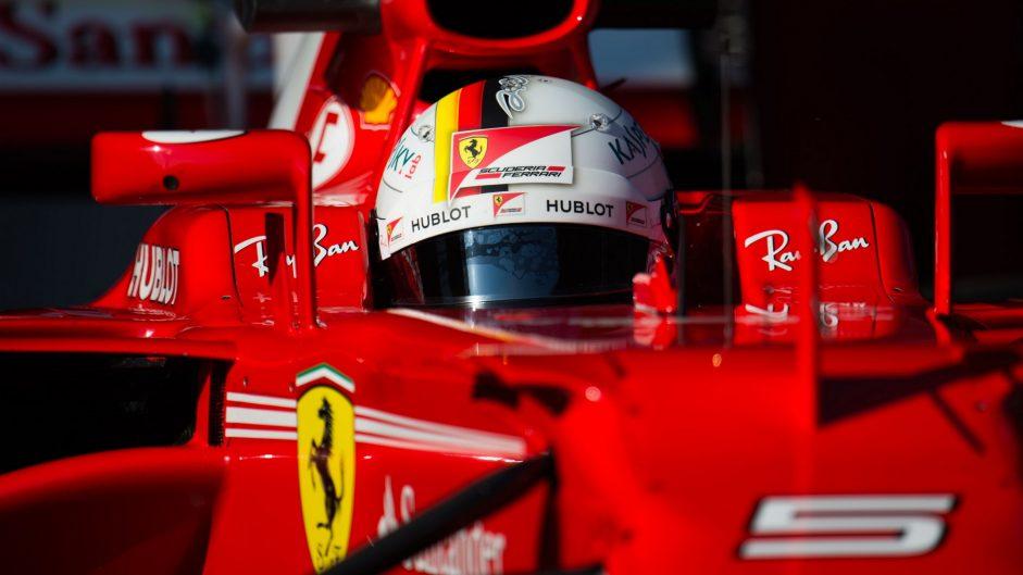 Vettel cautious over Ferrari pace despite quick times