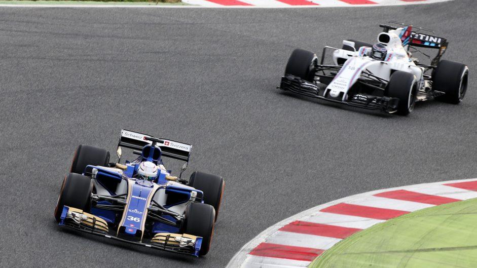 Antonio Giovinazzi, Sauber, Circuit de Catalunya, 2017