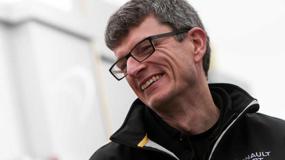 Chris Dyer, Renault, Circuit de Catalunya, 2017