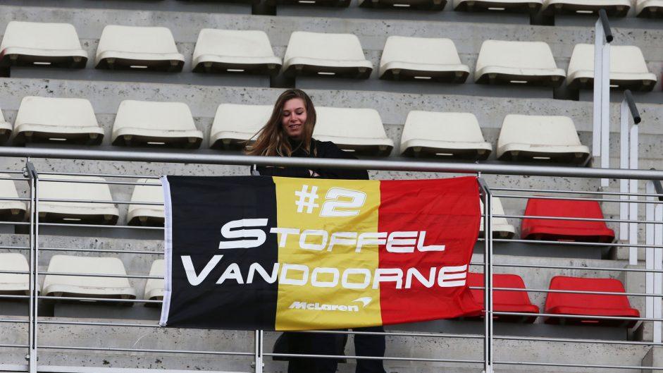 Stoffel Vandoorne fan, McLaren, Circuit de Catalunya, 2017