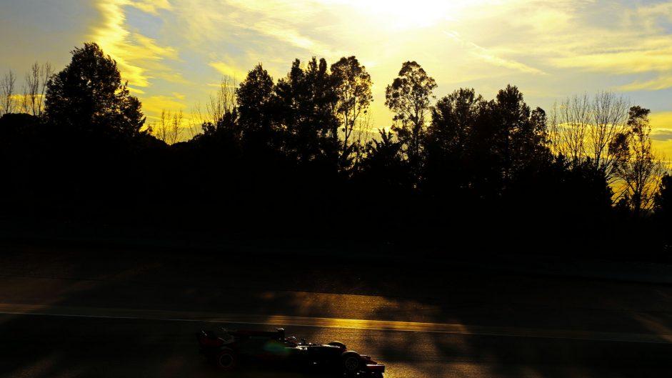 Kevin Magnussen, Haas, Circuit de Catalunya, 2017