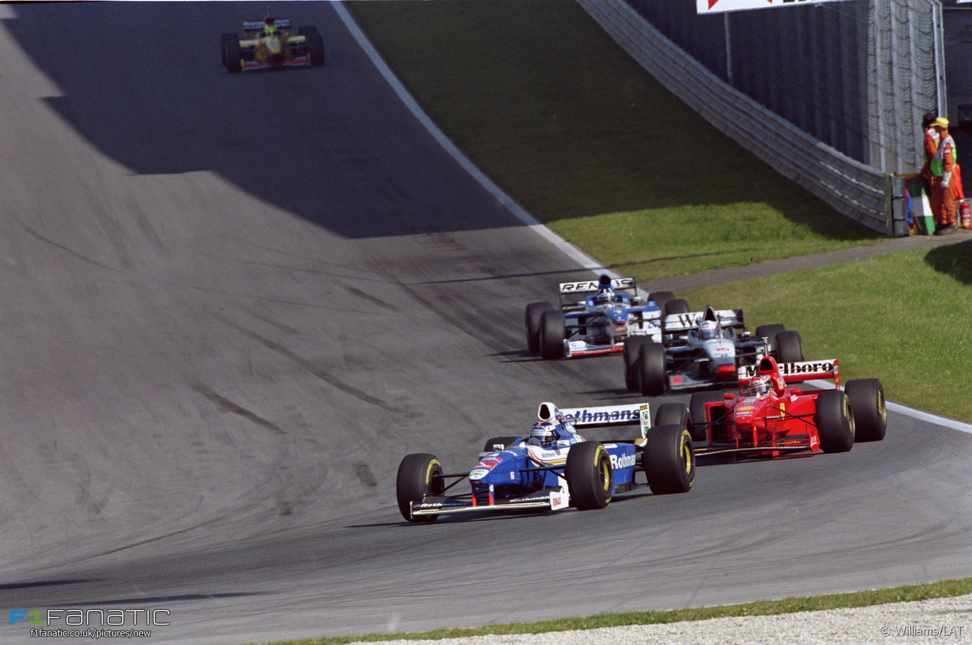 A1-Ring, Williams, 1997