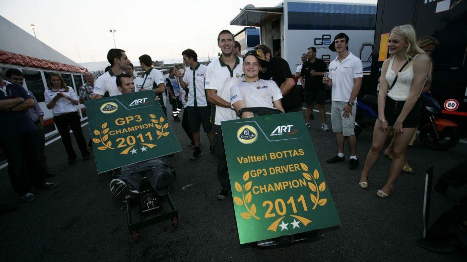 Valtteri Bottas, GP3, Monza, 2011
