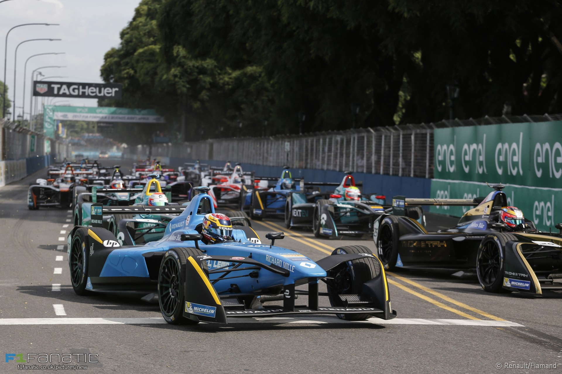 Sebastien Buemi, Formula E, Buenos Aires, 2017