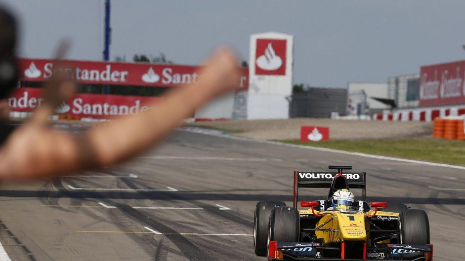 Marcus Ericsson, GP2, Nurburgring, 2013