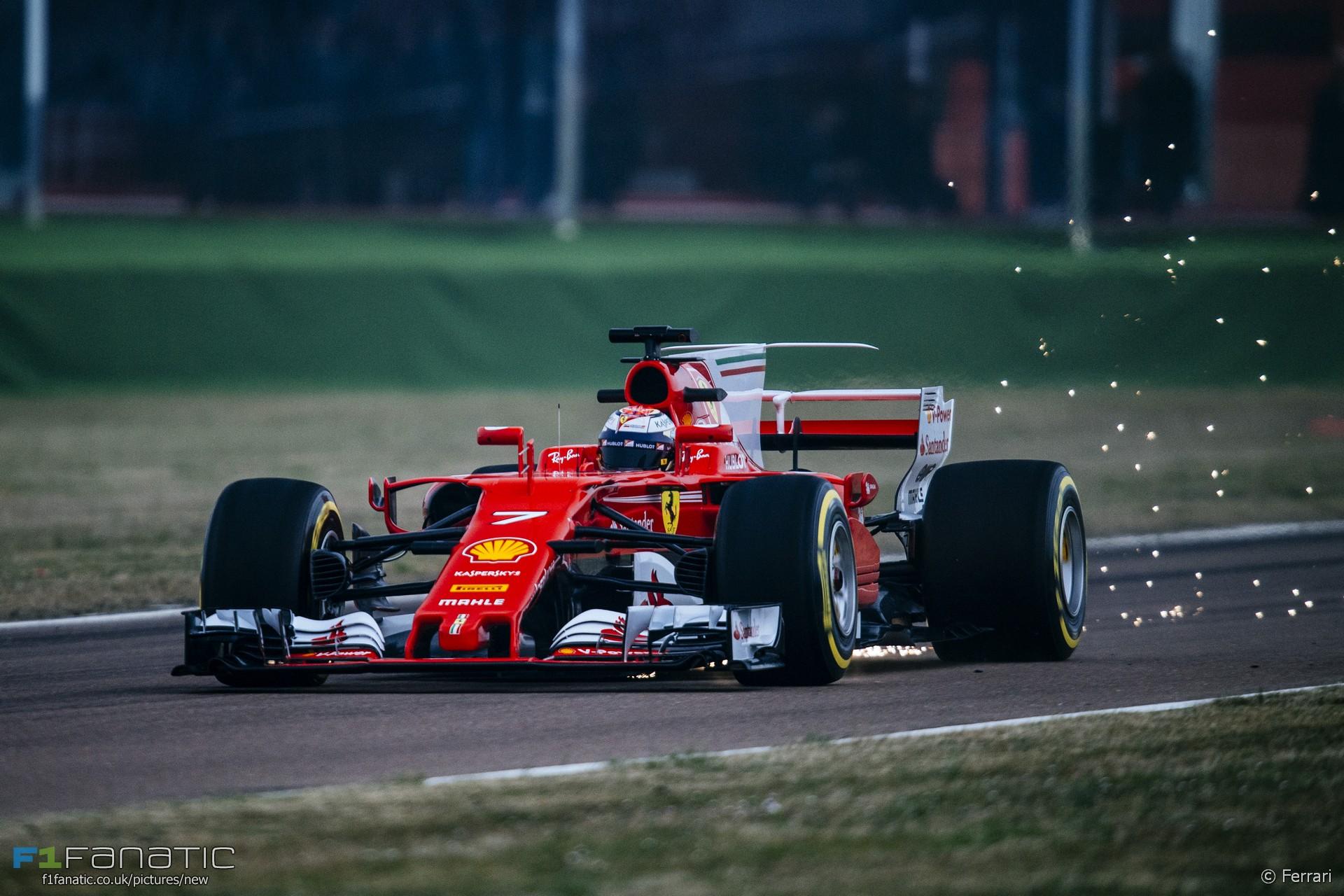 raikkonen gives first verdict on ferrari's new car · f1 fanatic