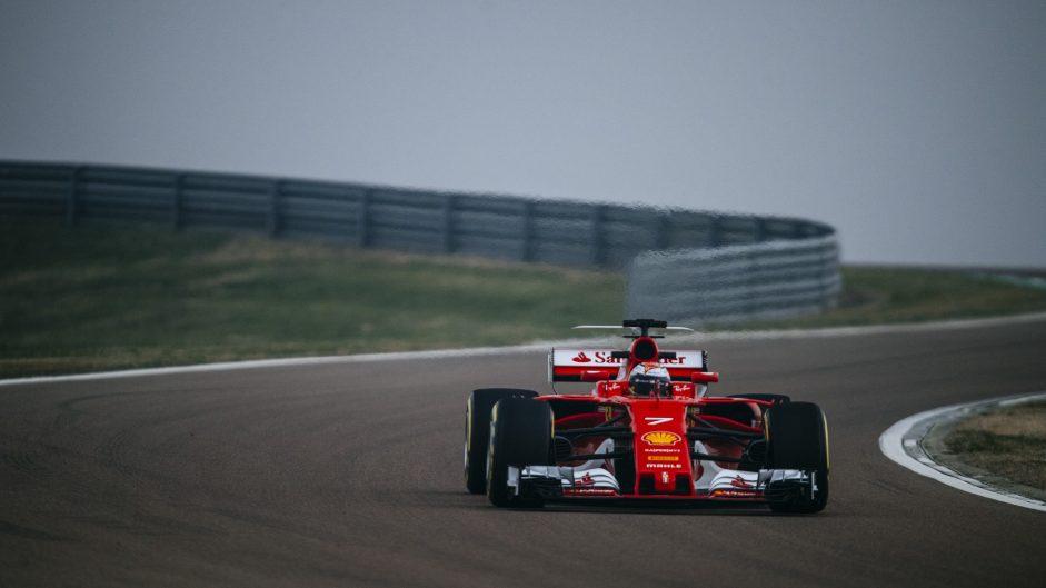 Kimi Raikkonen, Ferrari, Fiorano, 2017