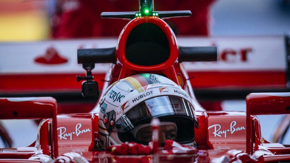 Sebastian Vettel, Ferrari, Fiorano, 2017