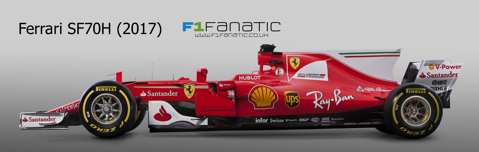 compare the new 2017 ferrari with last year 39 s model f1 fanatic. Black Bedroom Furniture Sets. Home Design Ideas
