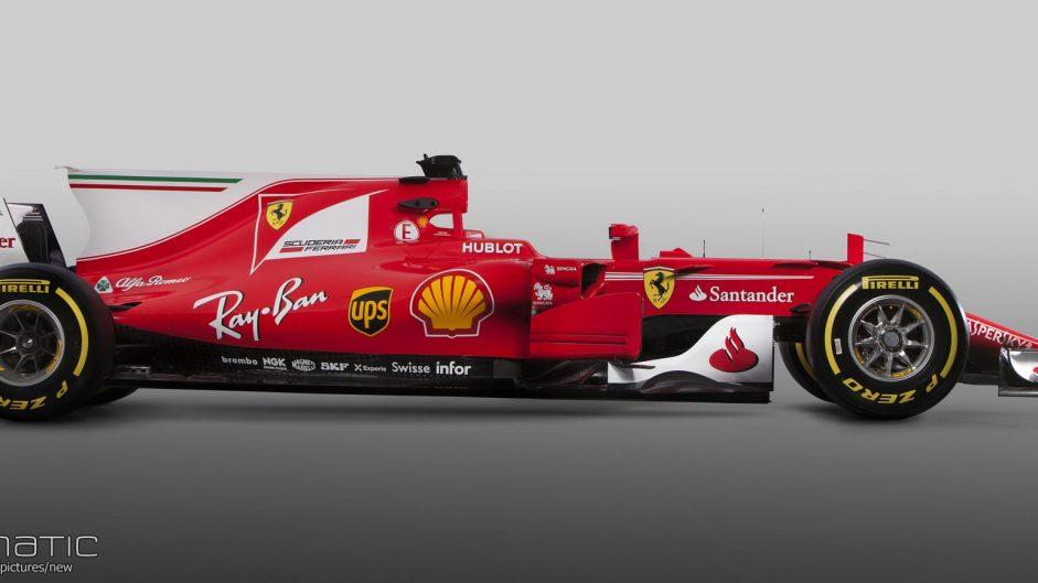 Ferrari SF70H, 2017