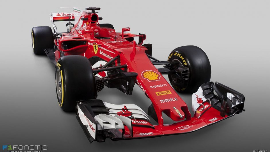 Pictures: Ferrari's new F1 car for 2017 revealed
