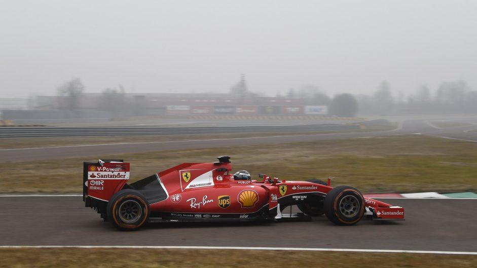 Antonio Giovinazzi, Ferrari, Fiorano, 2017