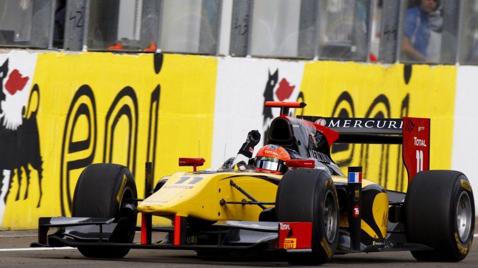 Romain Grosjean, GP2, Hungaroring, 2011