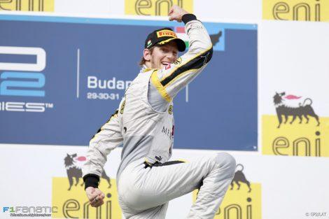 Romain Grosjean, GP2, Hungaroring, 2014