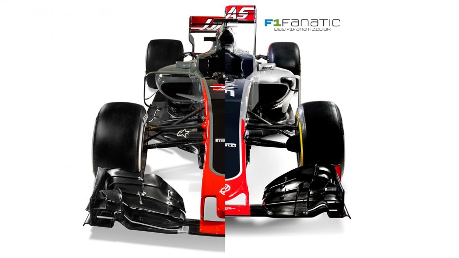 Compare the new 2017 Haas with last year's model