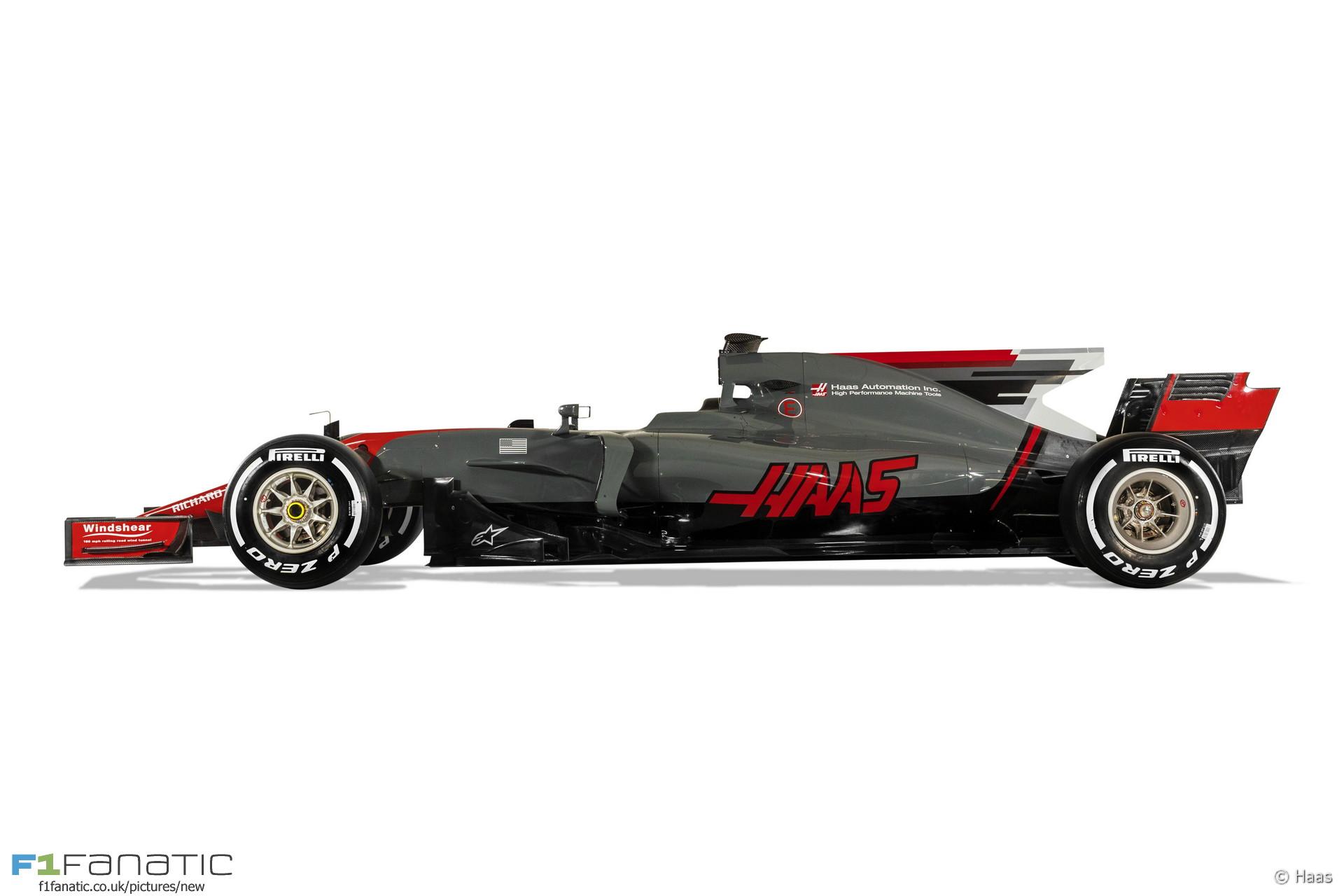 Haas VF-17 F1 2017
