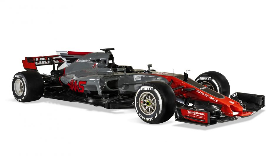 Pictures: Haas reveal their second Formula One car
