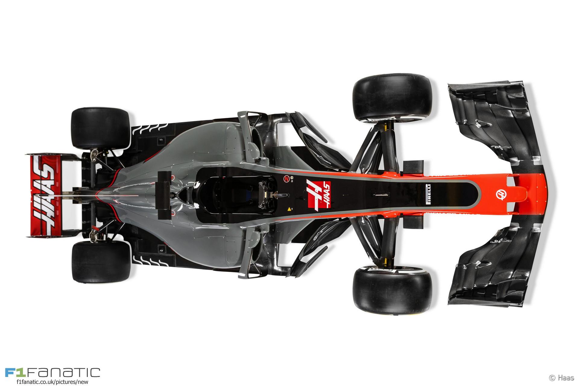 Haas VF-17, 2017