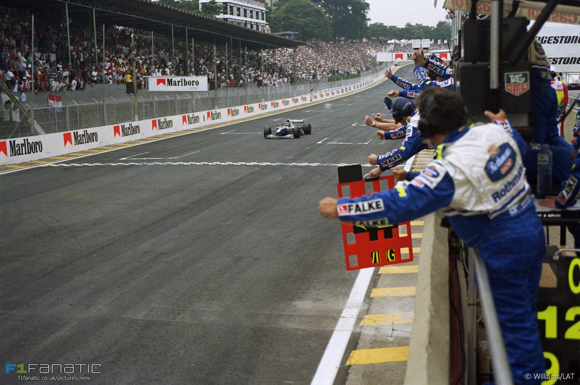 Interlagos, Williams, 1997