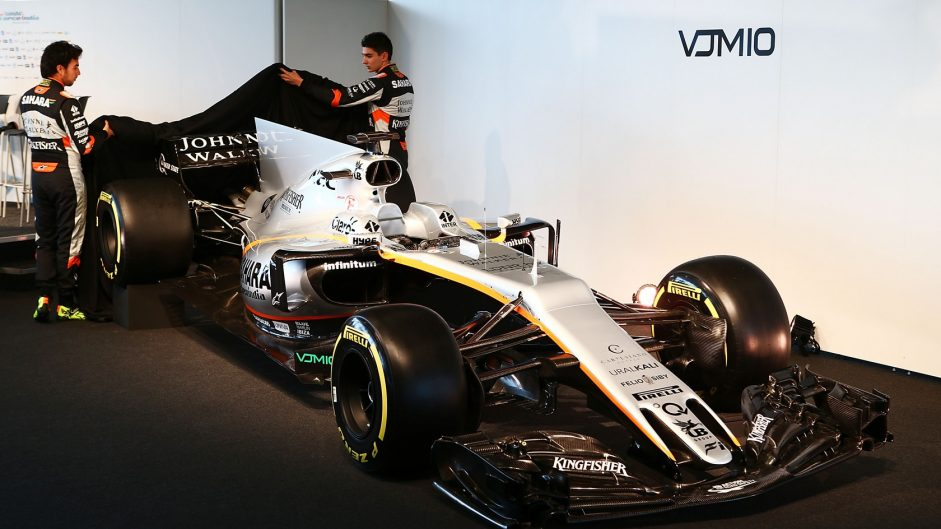Pictures: Force India reveal their 2017 car at Silverstone