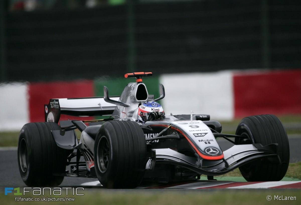 Kimi Raikkonen, McLaren, Spa, 2005
