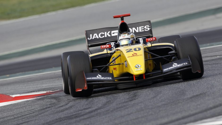 Kevin Magnussen, Formula Renault, 3.5, Circuit de Catalunya, 2013