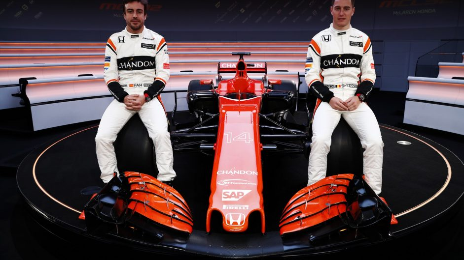 Pictures: McLaren reveal new car and orange livery