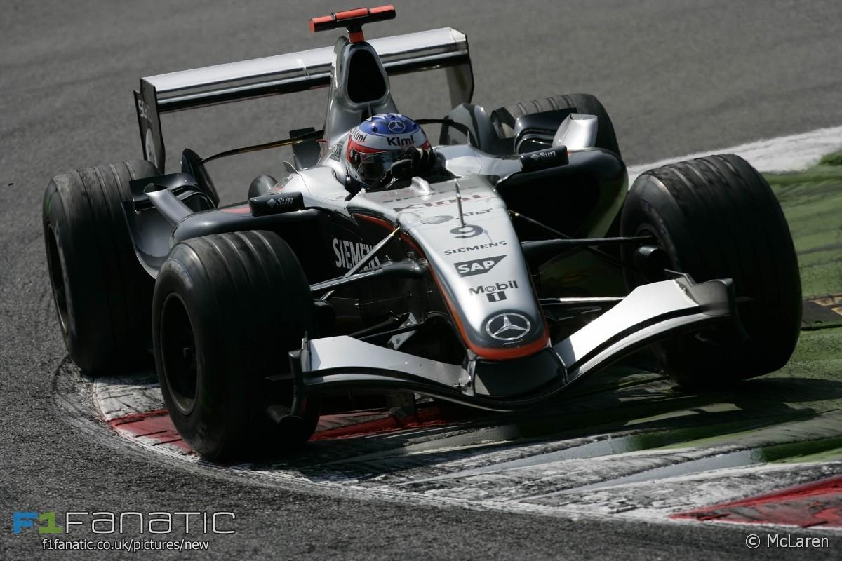 基米·莱科宁(Kimi Raikkonen),迈凯轮,蒙扎,2005年