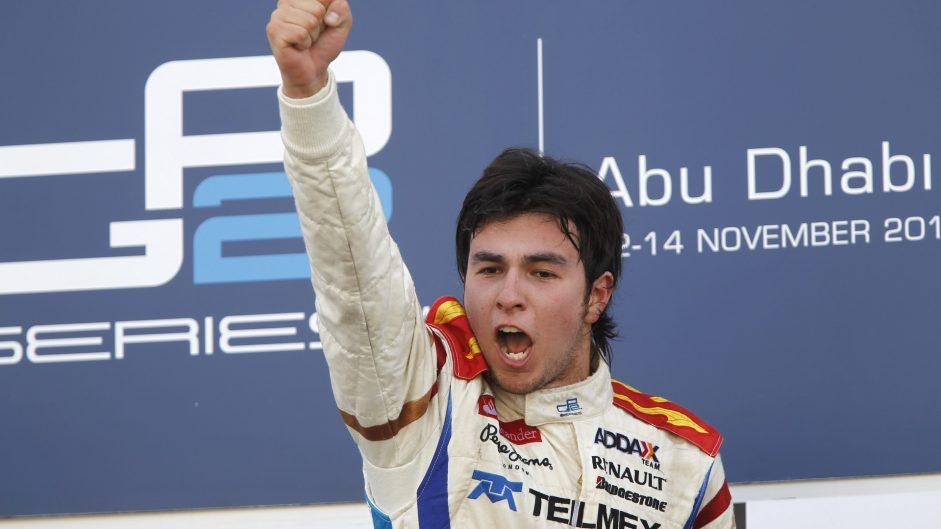 Sergio Perez, GP2, Yas Marina, 2010