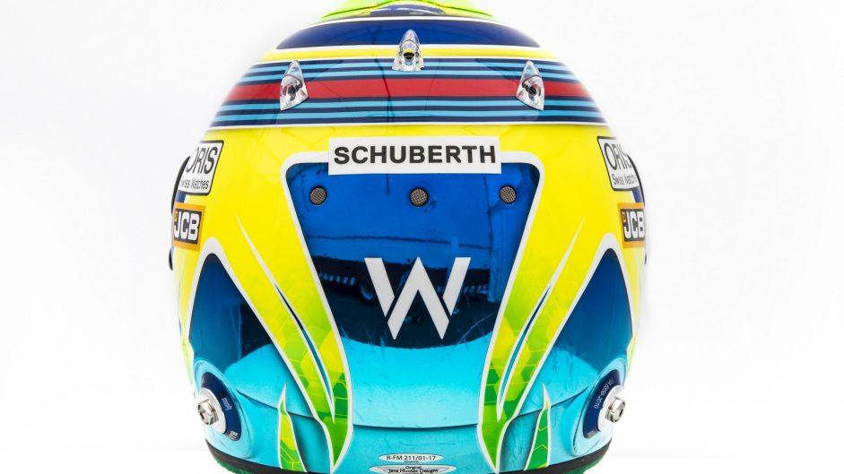Felipe Massa helmet, Williams, 2017