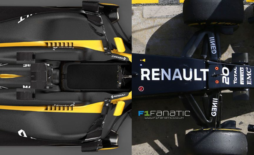 Compare the new 2017 Renault with last year's model