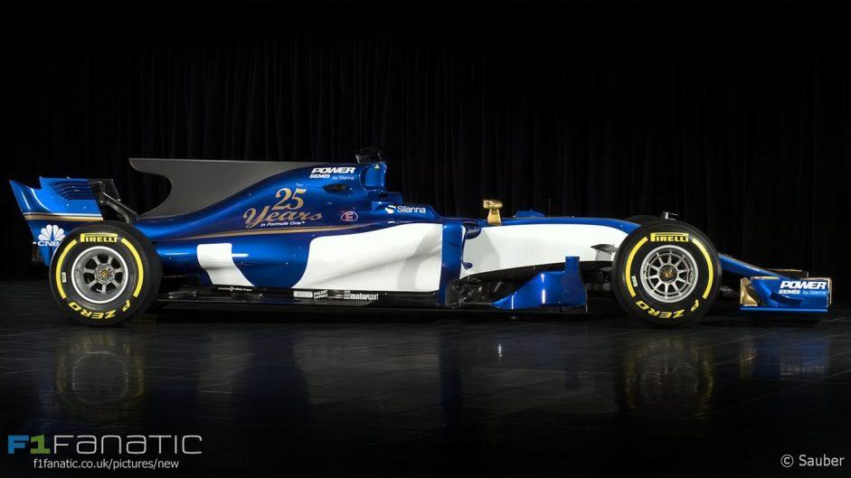 Sauber C36, 2017