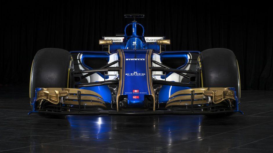 Sauber C36 front, 2017