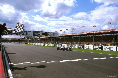 Jacques Villeneuve, Silverstone, Williams, 1997
