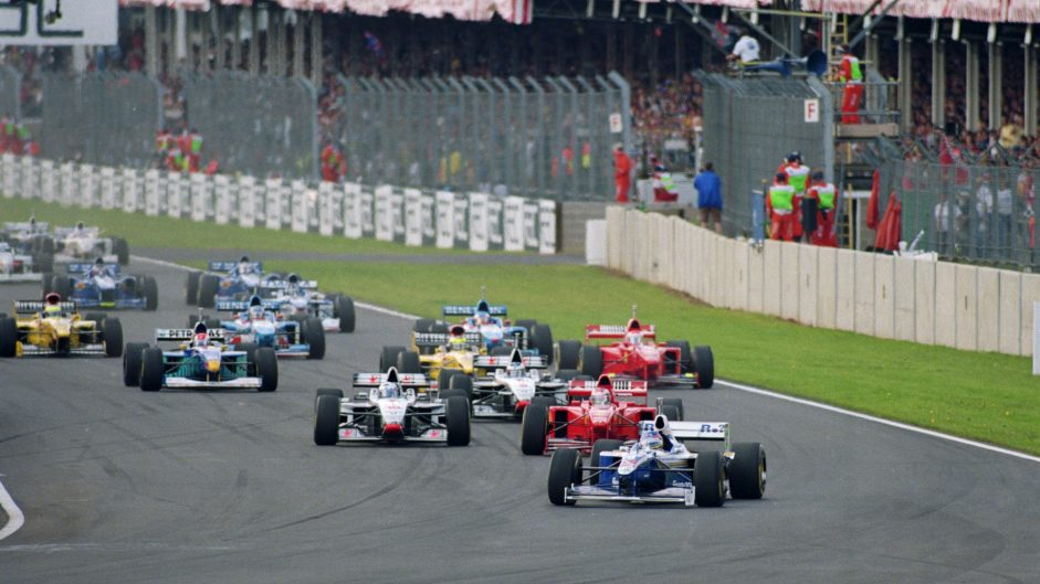 Villeneuve lucks out then lucks in for second Silverstone win