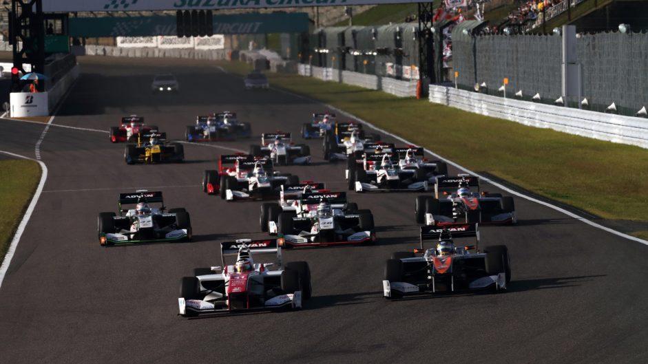 Stoffel Vandoorne, Super Formula, Suzuka, 2016