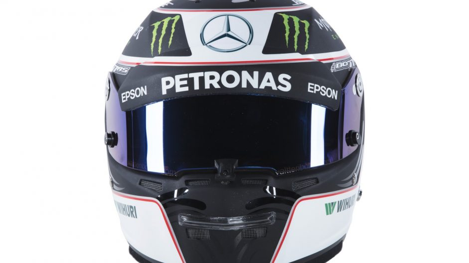Valtteri Bottas helmet, Mercedes, 2017