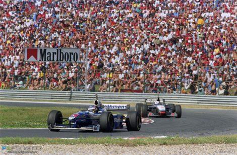 Hungaroring, Williams, 1997