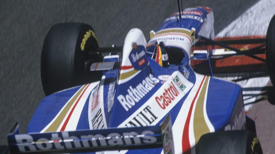 Villeneuve slip-up hands title lead back to Schumacher after Panis crash